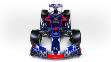 Toro Rosso STR13 new car F1 2018