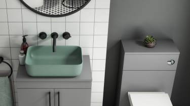Colourful basis - bathroom design trends for 2021