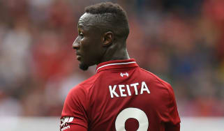 Liverpool midfielder Naby Keita will miss the Champions League final