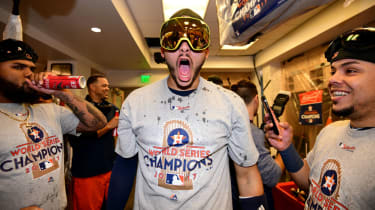 Carlos Correa Houston Astros World Series 2017