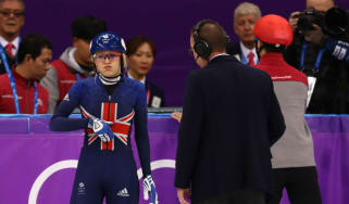 Elise Christie Team GB short track speed skating Winter Olympics