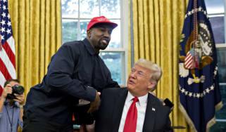 Kanye West, Donald Trump