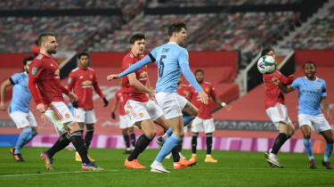 Manchester United and Manchester City are contenders for the Premier League title