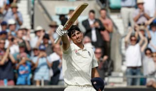 Alastair Cook century England vs. India The Oval 5th Test