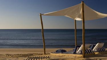 Vila Vita private beach