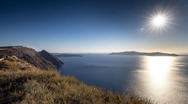The Santorini caldera