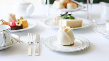 The Dorchester's afternoon tea is a popular choice for guests