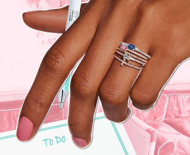 Tiffany Stackable Rings Horizon Collection