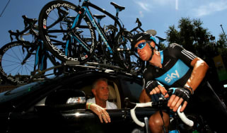 Shane Sutton Bradley Wiggins Team Sky cycling