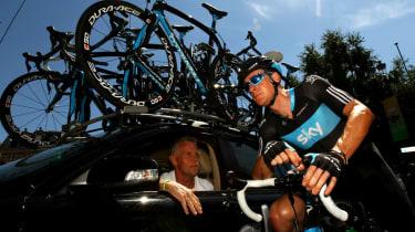 Shane Sutton Bradley Wiggins Team Sky cycling