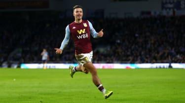 Aston Villa captain Jack Grealish has been linked with a big-money move to Man Utd