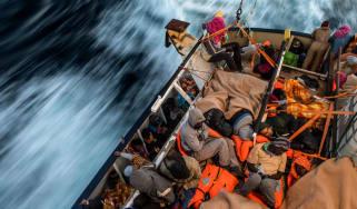Proactiva Open Arms rescue vessel