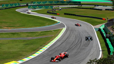 Ferrari's Sebastian Vettel won the 2017 F1 Brazilian Grand Prix