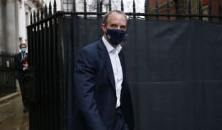 Dominic Raab, foreign secretary