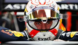 Red Bull Racing's Formula 1 driver Max Verstappen