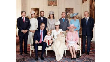 Princess Charlotte christening - official portrait