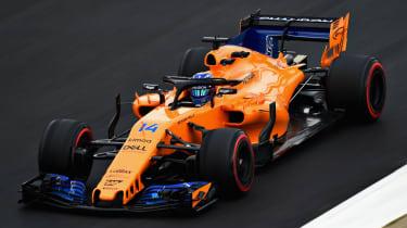 Fernando Alonso McLaren F1 Spanish Grand Prix