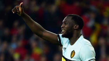 Belgium striker Romelu Lukaka
