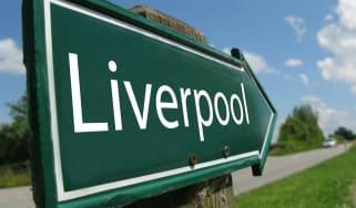A Liverpool road sign