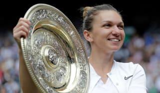 Simona Halep beat Serena Williams to win the 2019 women's singles title at Wimbledon