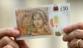The new £10 Jane Austin note