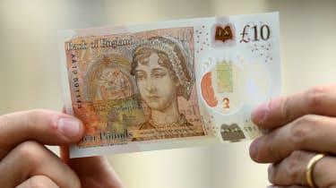 The new £10 Jane Austin note