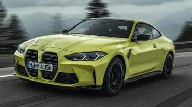 Prices for the BMW M4 Competition start from £76,115
