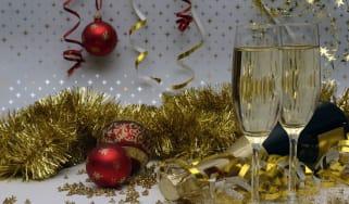 Christmas champagne pairings