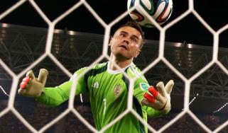 Akinfeev Russia goalkeeper