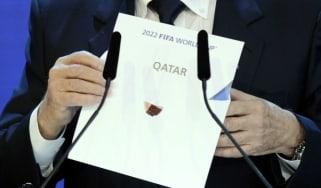Former Fifa president Sepp Blatter reveals the winner of the 2022 World Cup bid back in 2010