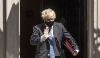 Boris Johnson departs No. 10 Downing Street
