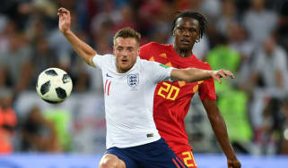 Jamie Vardy England football squad