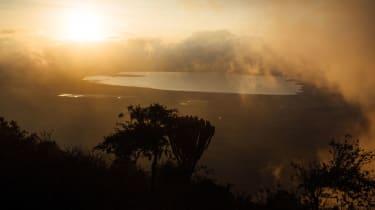 Sunrise at the Ngorongoro Crater, Tanzania