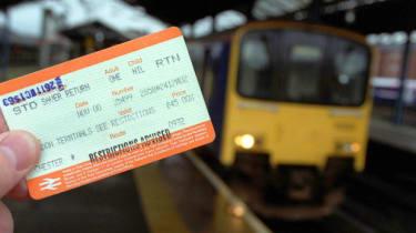 UK rail ticket
