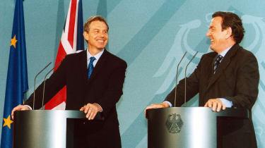 Tony Blair and Gerhard Schröder
