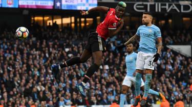 Paul Pogba Manchester United Man City