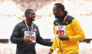 Justin Gatlin Usain Bolt