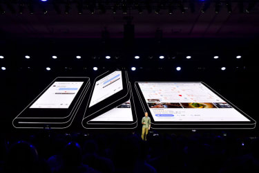 Samsung folding screen