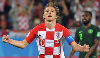 Luka Modric Real Madrid Croatia