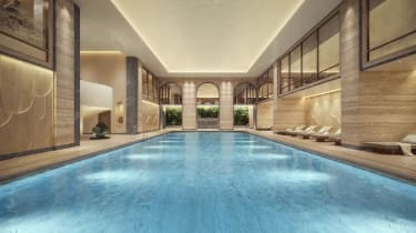 Swimming pool at The OWO Residences by Raffles