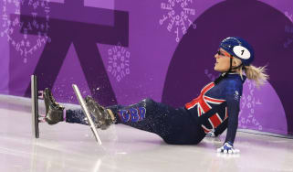 Elise Christie Team GB PyeongChang 2018 Winter Olympics
