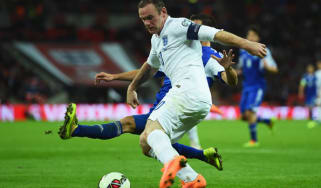 Wayne Rooney during march between England and San Marino
