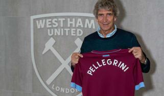 Manuel Pellegrini West Ham new manager