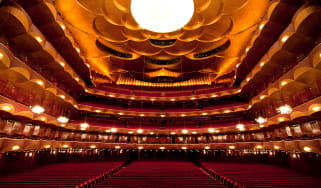 The auditorium of the Metropolitan Opera House in New York City.Photo: Jonathan Tichler/Metropolitan Opera