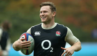 England winger Chris Ashton came off the bench against South Africa on 3 November