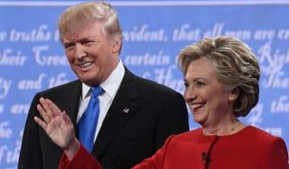Hilary Clinton Donald Trump