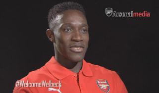 Danny Welbeck Arsenal interview