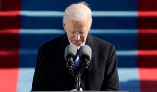Joe Biden delivers his inauguration speech