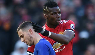 Chelsea forward Eden Hazard and Man Utd midfielder Paul Pogba are both linked with Real Madrid