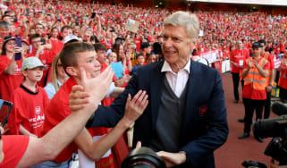 Arsene Wenger Arsenal Burnley Allegri Enrique